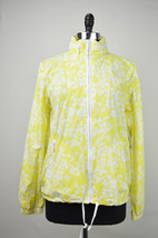 TOMMY HILFIGER YELLOW FLORAL PRINT LIGHTWEIGHT JACKET SZ M MEDIUM $129 7268 - $32.39