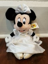 "Disney Parks 10"" Minnie Mouse Wedding Bride Plush - $12.59"