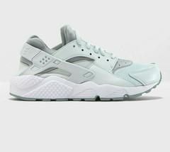 Nike Women's Air Huarache Run NEW AUTHENTIC Grey/White/Light Pumice 634835-030 - $104.99