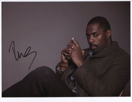 Idris Elba SIGNED Photo + COA Lifetime Guarantee - $79.99