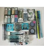 Hard Candy Eye Makeup Cosmetics BLUE & GREEN Shades Lot of 20 Different ... - $26.68