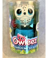Owleez, Flying Baby Owl Interactive Toy with Lights & Sounds (White) NIB - $16.82