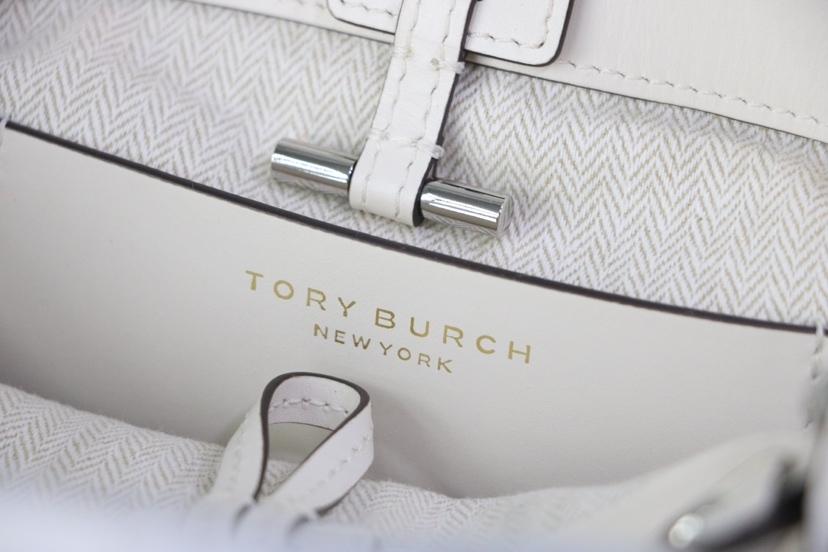TORY BURCH MILLER MINI BUCKET BAG Birch Auth