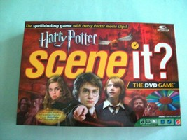 Harry Potter Scene It The DVD Game Mattel Edition Complete - $14.38