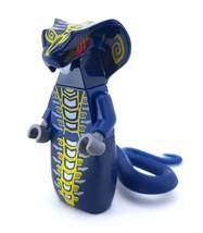 Lego ® - Skales 9444 9446 Blue Snake Tribe Tail Fang Ninjago Figure - $18.28