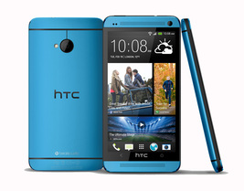 """Htc one m7 blue 2gb 32gb quad core 4.7"""" hd screen android 4g lte smartphone - $168.80"""