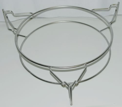 Unbranded Circular Metal Grill Cooking Rack Color Silver
