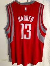 Adidas Swingman 2015-16 NBA Jersey Houston Rockets James Harden Red sz S - $29.69