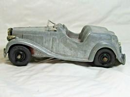 """Vintage 1950's Red Hubley Kiddie Toy Die Cast Metal Car Roadster 5 1/2"""" - $24.99"""
