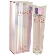 ESCADA SENTIMENT by Escada Eau De Toilette Spray 2.5 oz (Women) - $49.68