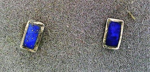 Primary image for Lapis Sterling Silver Stud Earrings