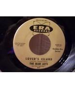 "SHINY NEAR MINT! ""LOVERS ISLAND"" by THE BLUE JAYS 45RPM DOO WOP  RECORD - $4.00"