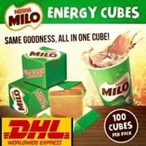Nestle Chocolate Milo Energy Cube Sweet Natural Delicious 100 pcs - $27.20