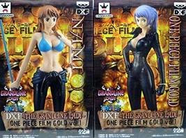*One Piece DXF ~ THE GRANDLINE LADY ~ ONE PIECE FILM GOLD vol.1 2 Set of - $50.75
