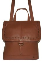 THE SAK WOMEN'S LEATHER SARATOGA CONVERTIBLE BACKPACK CROSSBODY BAG TOBACCO - $128.65