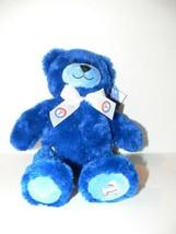 "Tex - Teddy Bear 2006 Build A Bear Texas Rangers 12"" Blue Plush Stuffed Cc - $19.99"