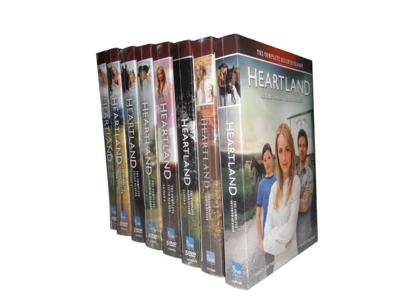 Heartland The Complete Series Seasons 1-10 DVD Box Set 50 Disc Free Shipping New