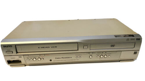 Sanyo DVW-7100 DVD 4 Head VCR Combo Player VHS Recorder No Remote. POWERS ON - $48.00
