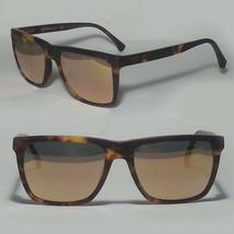 Emporio Armani EA 4117 Rectangular Men Sunglasses Mirrored Lens Tortoise... - $116.40