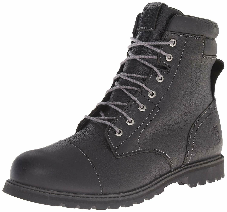 "Men's Timberland Chestnut Ridge 6"" Insulated Boots, TB09708B 001 Black Mul Sizes image 2"