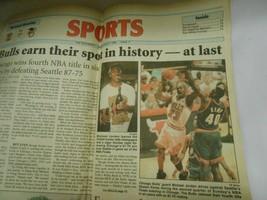 Vintage Newspaper Articles Michael Jordan Bulls Monday June 17 1986 & Ot... - $22.27
