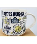 Starbucks 2019 Pittsburgh, Pennsylvania Been There Collection Coffee Mug... - $36.52