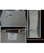 Eddie Bauer Men's Khaki Pants NWT Ruston Fit Nano Care SZ 35 - $21.99