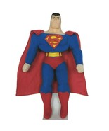 """Justice League Toy Factory Superman Plush Plastic Face 16.5"""" - $19.80"""