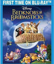 Bedknobs and Broomsticks (Blu-ray/DVD, 2014, 2-Disc Set)
