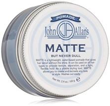 John Allan's Pomade Matte, 2.4 Oz - $32.60