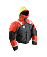 First Watch AB-1100 Flotation Bomber Jacket - Red/Black - Large - $242.50