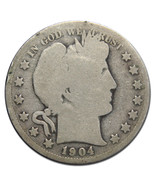 1904S Liberty Barber Head Half Dollar 50¢ Silver Coin Lot MZ 3132 - €26,57 EUR