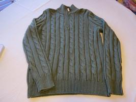 Polo Ralph Lauren Jersey Pulóver Camisa M Hombre 208001 Lovett Heathr Verde Seda - $69.84