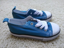 LEGENDARY LACES Toddler Casual Athletic Blue Shoes Boys Girls Size 9 NEW - $8.99