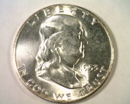 1953-S FRANKLIN HALF DOLLAR CHOICE UNCIRCULATED STRONG STRIKE FOR 1953-S... - $48.00