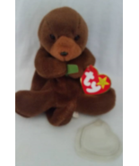 TY Beanie Babies Seaweed Otter PVC PELLETS Style # RARE ERRORS Retired - $39.99