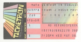 THE FIRM 5/8/85 Worcester MA Concert Ticket Stub! Jimmy Page Led Zeppelin - $9.89