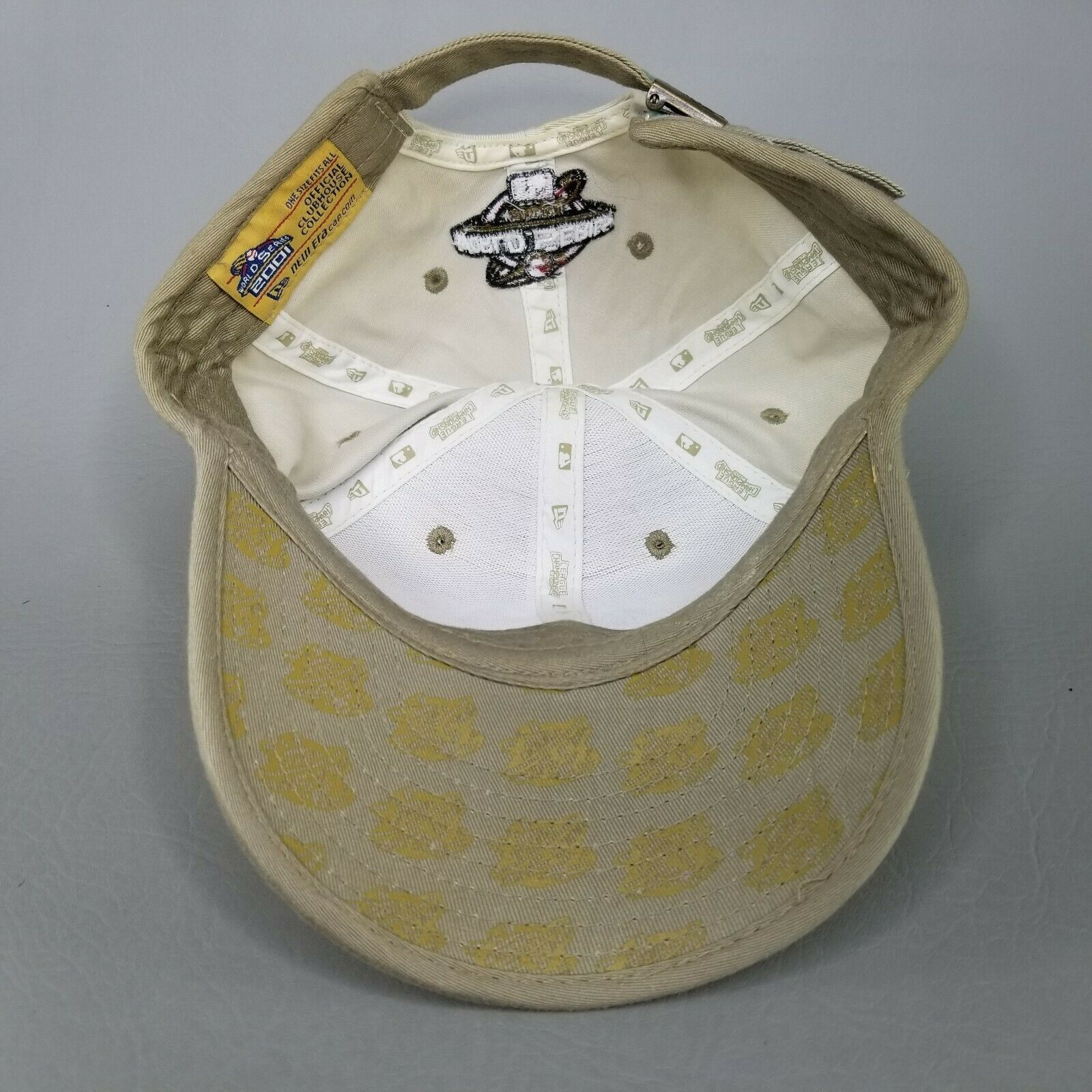 Arizona Diamondbacks New Era Baseball Hat 2001 League Champions World Series image 7