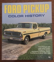 Ford Pickup Color History Brownell Mueller Rangers F Series Rancheros Bronco Etc - $14.84