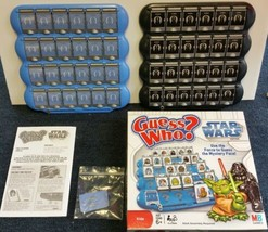 Guess Who? Star Wars Edition 2008 Memory Game by Hasbro 100% Complete MB... - $26.72