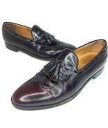 Mens Johnston Murphy Aristocraft Loafers Shoes Size 11 B Narrow Wingtip Tassels - $39.99