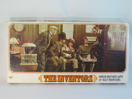 The Inventors 1974 Board Game Parker Brothers 100% Complete Excellent USA ^^^ - $32.67