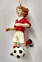 Soccer Kids Ornament (3.5 inch, Girl B) - $14.85