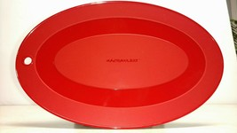 Rachael Ray Trivet Potholder Set 2 RED SILICONE Heat Resistant for Bakeware - $10.40