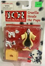 Mattel Arco Toys Disney 101 Dalmatians Cruella Steals The Pups Deluxe Playset - $17.94