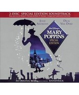 MARY POPPINS SOUNDTRACK CD - 2 Disc Special Edition - No Booklet - Walt ... - $2.66