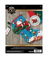 Bucilla 'Airplane Santa' Stocking Embroidery Applique  Kit-86863 - $24.99