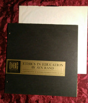 RARE Original LP Vinyl Record NBI ETHICS in EDUCATION lecture AYN RAND 1966 - $62.00