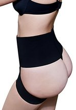 Fullness Butt Lifter Panties (3XL, Black)
