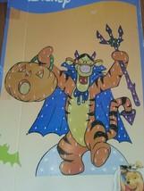 "Disney Halloween lighted yard Decor Pooh's TIGGER 48"" tall 150 lights 2006 - $53.44"